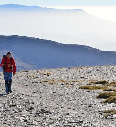 Andalusien vandring mulhacen
