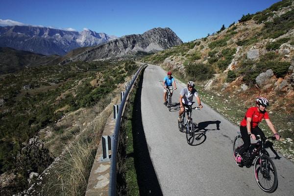 Albanien cykel 7