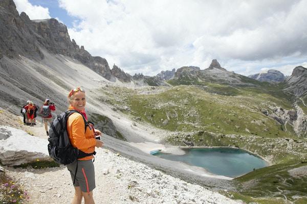 Cortina dolomiterna vandring 7