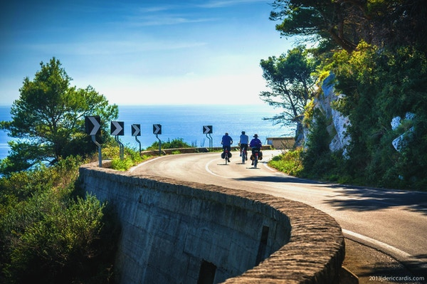 Apulien cykel 2 ljus