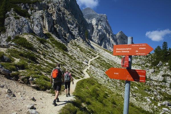 Slovenien julianska alperna vandring 1