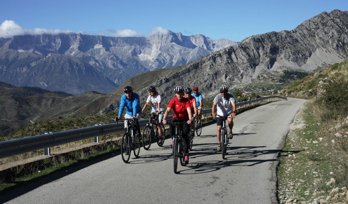 Albanien cykel 8