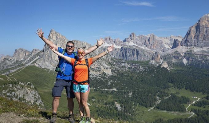 Cortina dolomiterna vandring 3