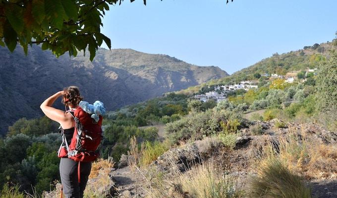 Andalusien vandring taha de pitres