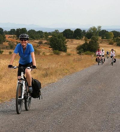 Pilgrimscykling camino de santiago spanien 2