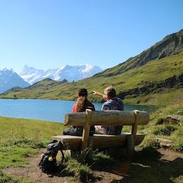 Jungfrau schweiz vandring