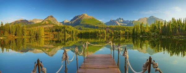 bergsjö i de slovakiska högtatraserna