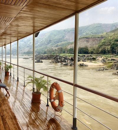 En kryssning genom Laos på Mekong är en äventyrlig upplevelse!