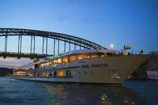 Utsikt över fartyget MS Seine Princess