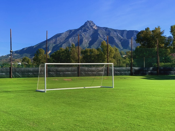 Dama de Noche, four full sized FIFA approved natural grass pitches