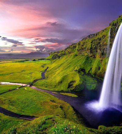 Seljalandsfoss vattenfall