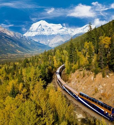 Kanada rocky mountaineer klippiga bergen tagresa1