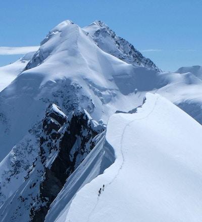 alpine expedition trekking monte rosa