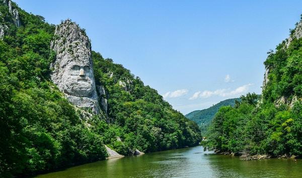 Decebal staty i Rumänien