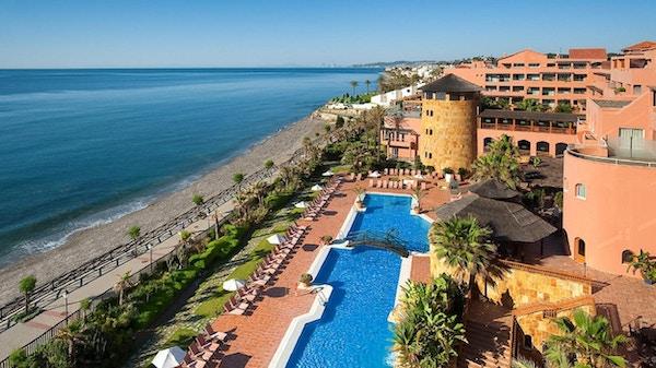 Strandnära hotell med utsikt över havet, Elba Estepona Gran Hotel
