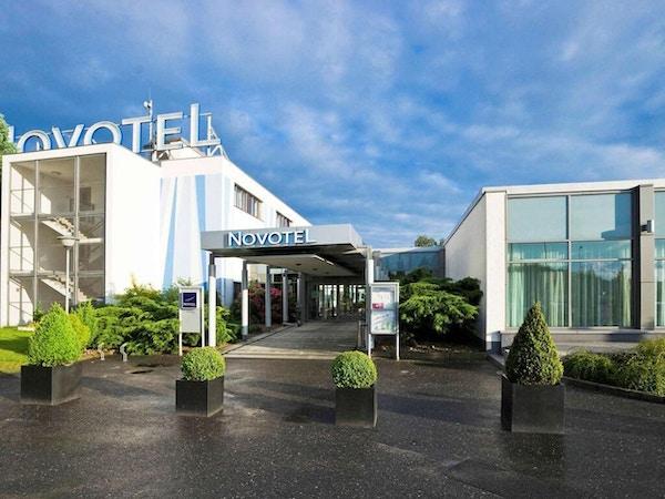 Entrén til hotellet, Novotel Poznan Malta