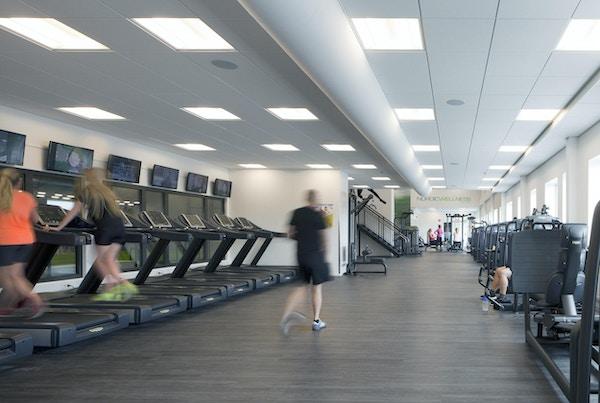 Ett av nordens största gym finns inne i Prioritet Serneke Arena