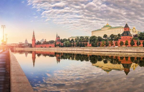 Fredet av en arbetsdag i Moskva Kreml