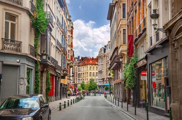 Gate i Brussel