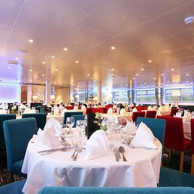 Restaurangen på  MS Elbe Princesse