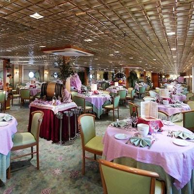Restaurang på MS La Belle Cadix