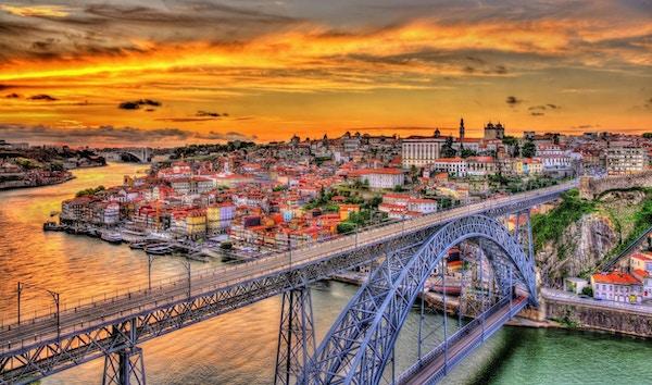 Stålbron i Porto