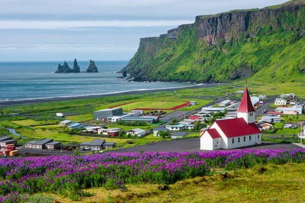 By på södra Island