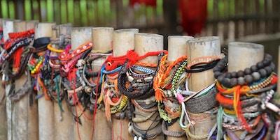 Choeung Ek, de så kallade Killing Fields strax utanför Phnom Penh, Kambodja.