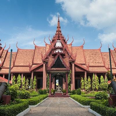 Nationalmuseet i Phnom Penh, Kambodja