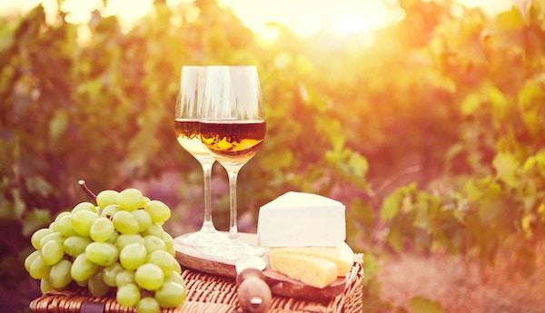 Frankrike vin mat