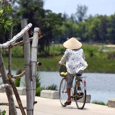 Cykeltur vid floden