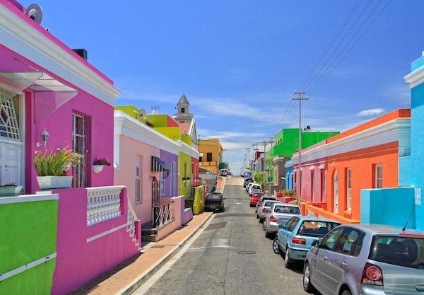 Ovanför Kapstaden i Kapstaden