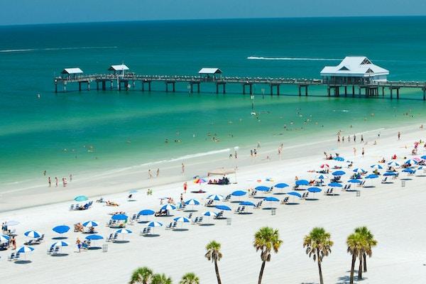 Usa florida clearwater beach pir1