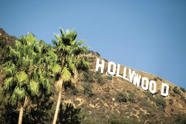 Usa kalifornien hollywood skylt1