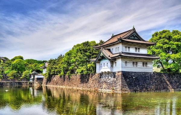 Tatsumi Yagura, ett försvarstorn på kejsarpalatset, Tokyo