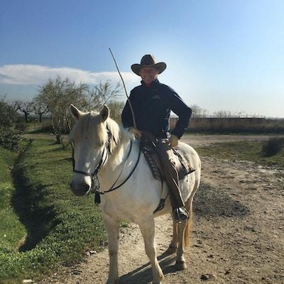 Cowboy i Camargue