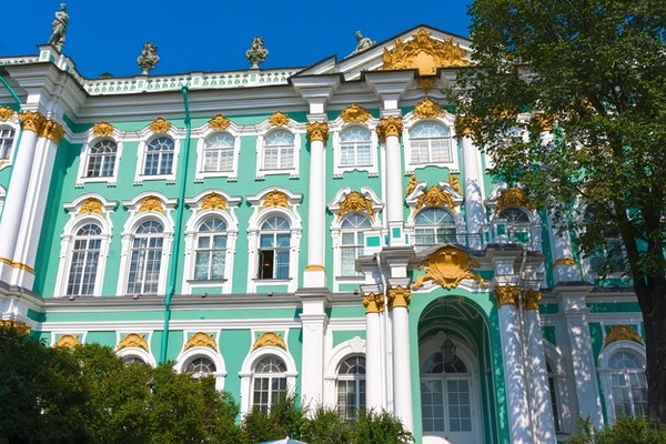 Eremitmuseet - Vinterpalats av ryska kungar, St Petersburg, Ryssland
