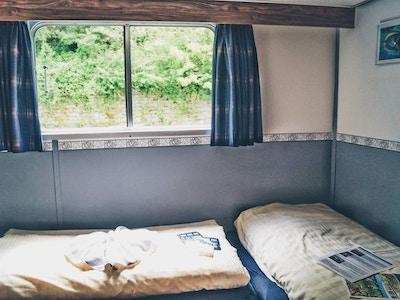 Ms patria upper deck twin cabin