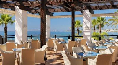 Uteservering, havsutsikt, Gibraltar, H10 Estepona Palace