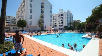 Poolområde, Pyr Banus, Marbella