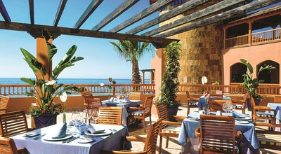 Restaurang med havsutsikt, Elba Estepona Gran Hotel