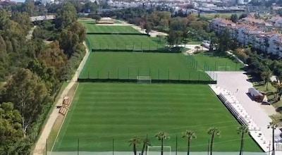 Dama de Noche fotbollscenter från ovan