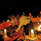 Middag under stjärnorna Sebatana Lodge
