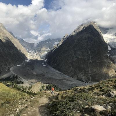 Courmayeur mont blanc vandring 4