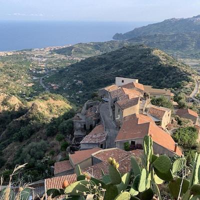 Sicilien taormina etna vandring 2