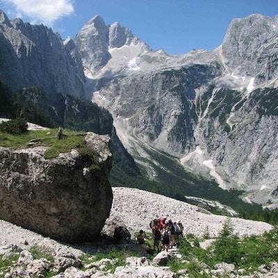 Slovenien julianska alperna vandring 2