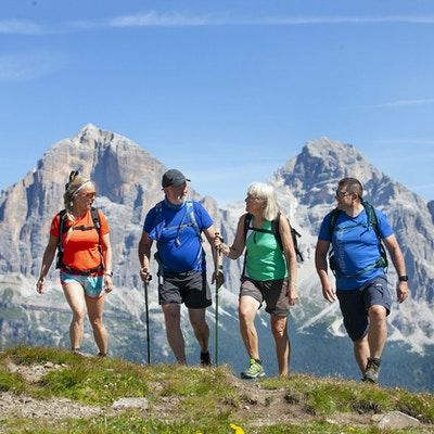 Cortina dolomiterna vandring 1