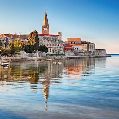 Hamnstad Porec, Kroatien