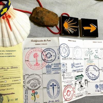 Pilgrimsvandring credencial