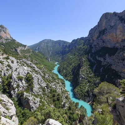 Gorges du Verdon i den Provence regionen av Frankrike, Europa.